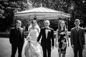 A Wedding Photograph in St. Stephen Green