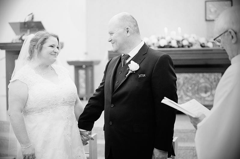 A Wedding photograph at Saint Anne's Church Portmarnock