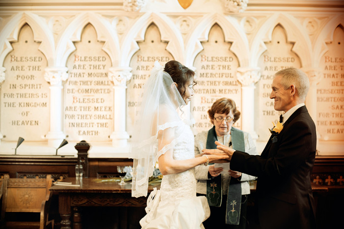 Dublin Unitarian Church Wedding Ceremony