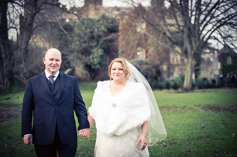 Malahide Casle Wedding Photo