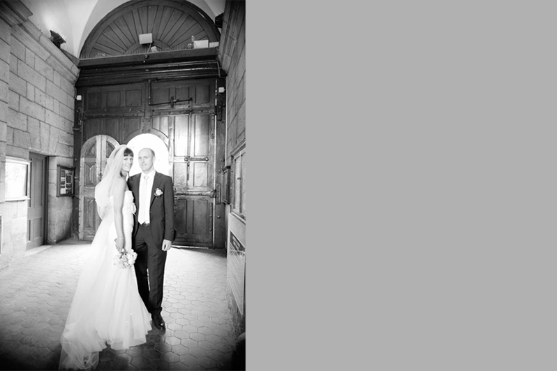 Trinity College Wedding Photo
