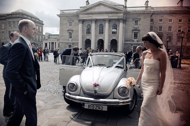 Trinity College Wedding Photograph