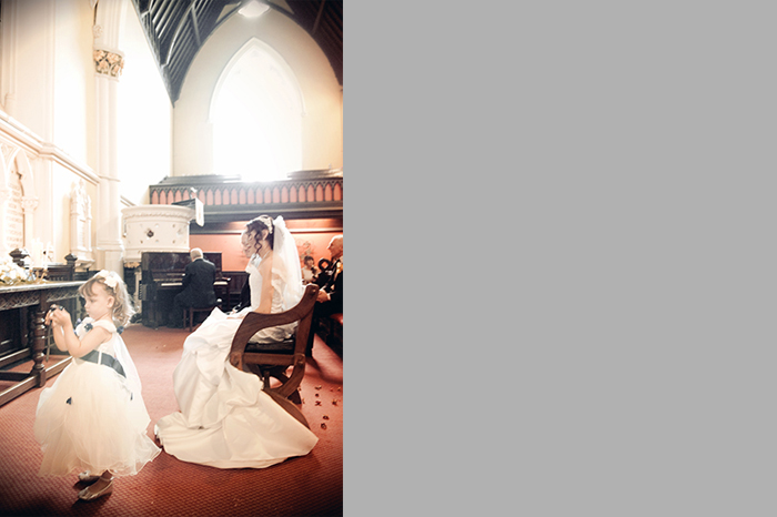 Unitarian Church Dublin Wedding Photograph