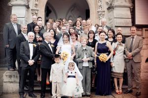 Unitarian Church Wedding Photograph