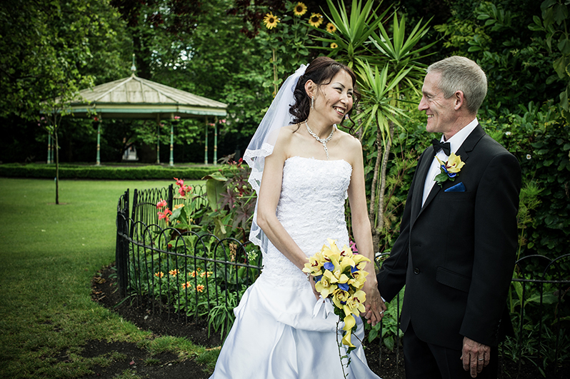 Wedding Photograph in St. Stephen Green