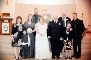 Wedding photo at Saint Anne's Church Portmarnock