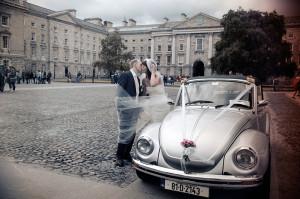 Wedding photography at Trinity College Chapel Dublin