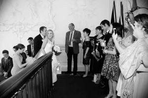 Hibernian Club Wedding Photo