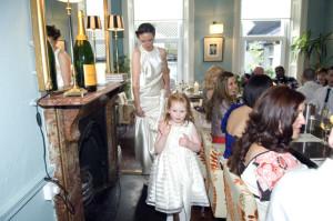 Wedding reception at Ely Wine Bar in Dublin