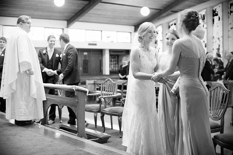 St. Anthony's Church Clontarf Wedding Photo