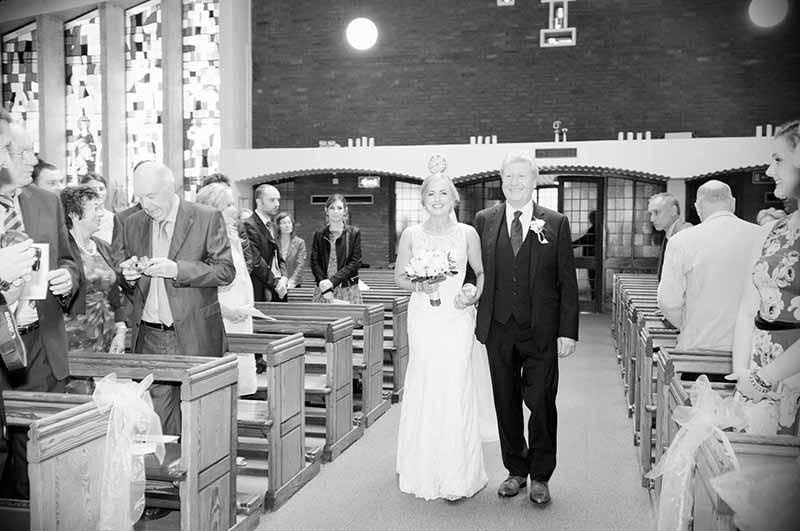 St. Anthony's Church, Clontarf Wedding Photograph