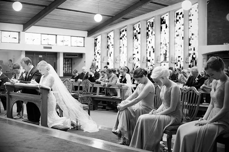 St. Anthony's Church Clontarf Wedding Photograpy
