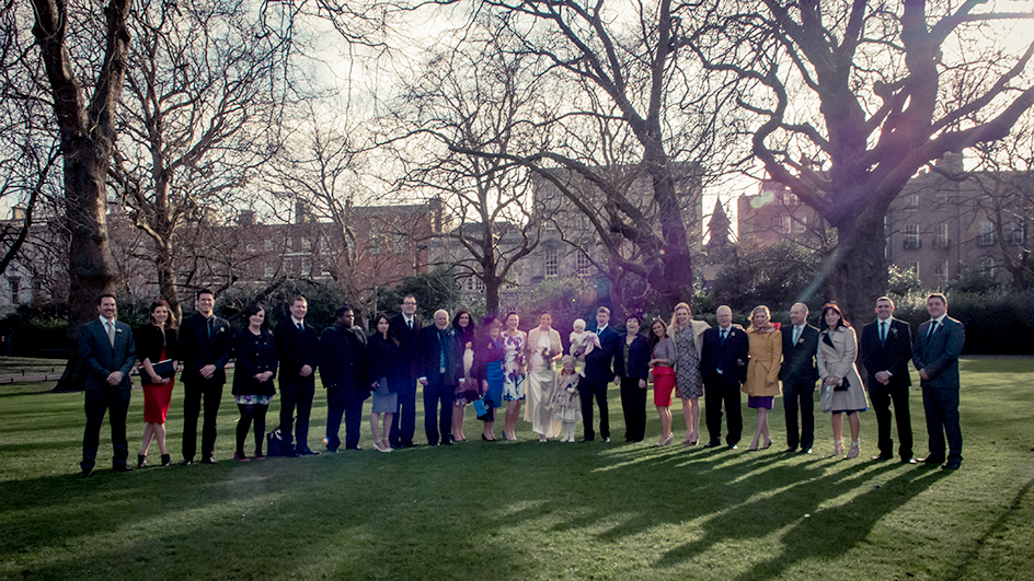 St. Stephen's Green Wedding Photo
