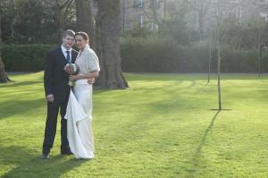 St. Stephen's Green Wedding Photograph
