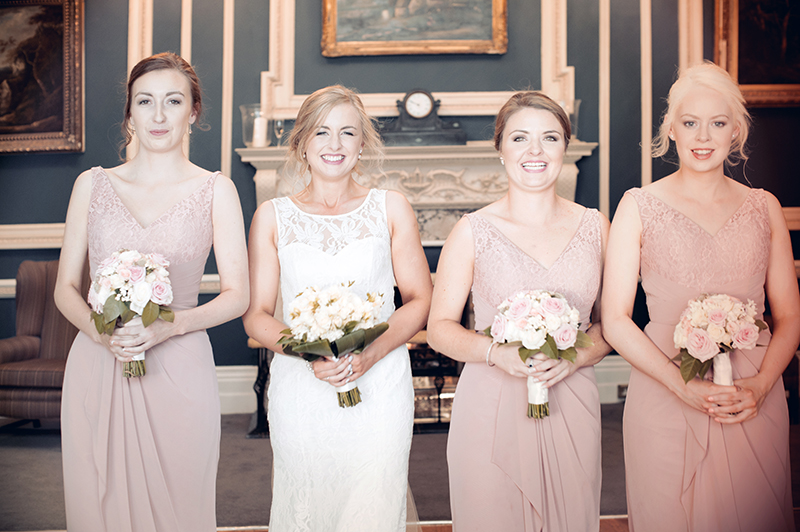 The Hibernian Club Wedding Photograph
