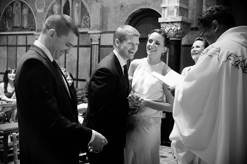 University Church Wedding Dublin Photograph