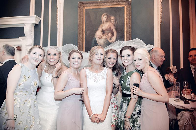 Wedding Photograph at The Hibernian Club in Dublin