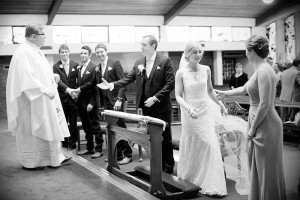 Wedding Photograph in St. Anthony's Church, Clontarf
