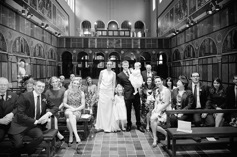 Wedding at University Church Dublin