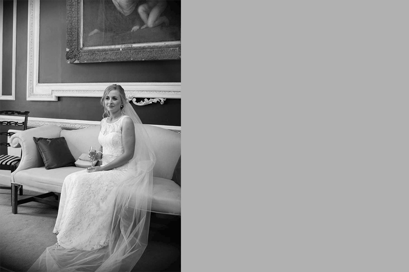 Wedding photograph at The Hibernian Club St.Stephen's Green
