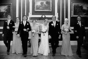 Wedding photography at The Hibernian Club on St.Stephen's Green