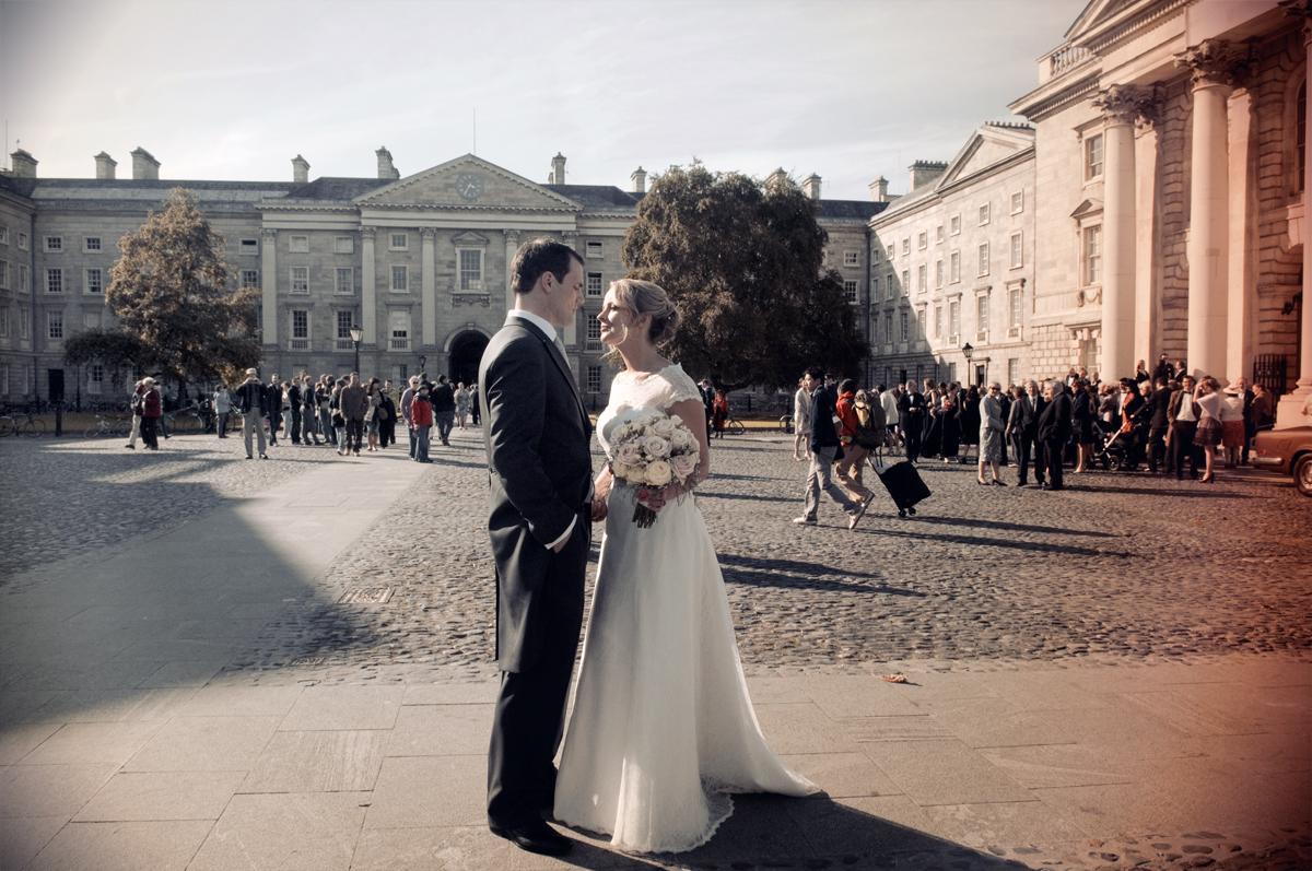 Trinity College Wedding Photograph