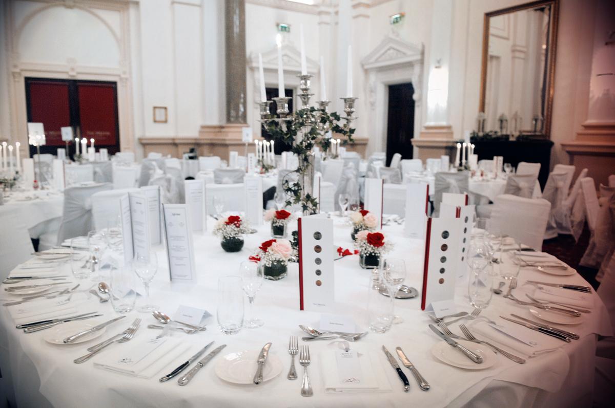 Westin Hotel Wedding Reception Photograph