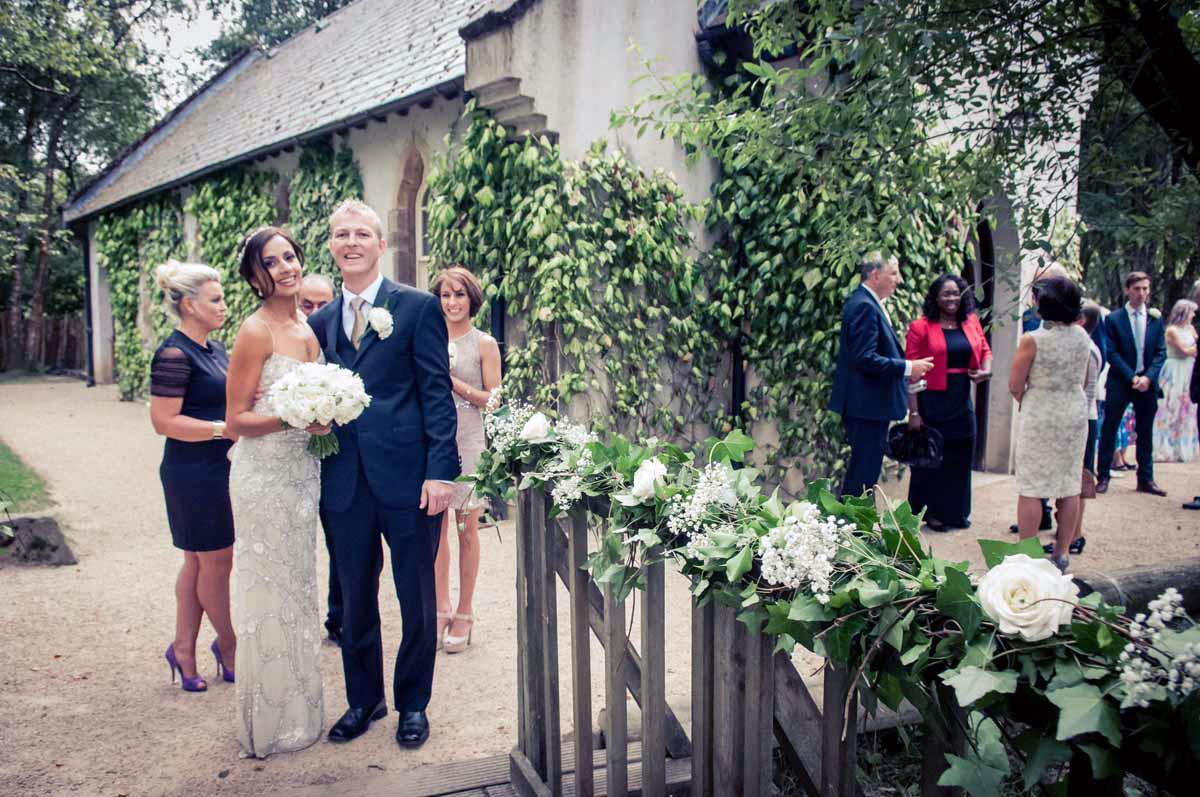 Brook Lodge Chapel Wedding Photo