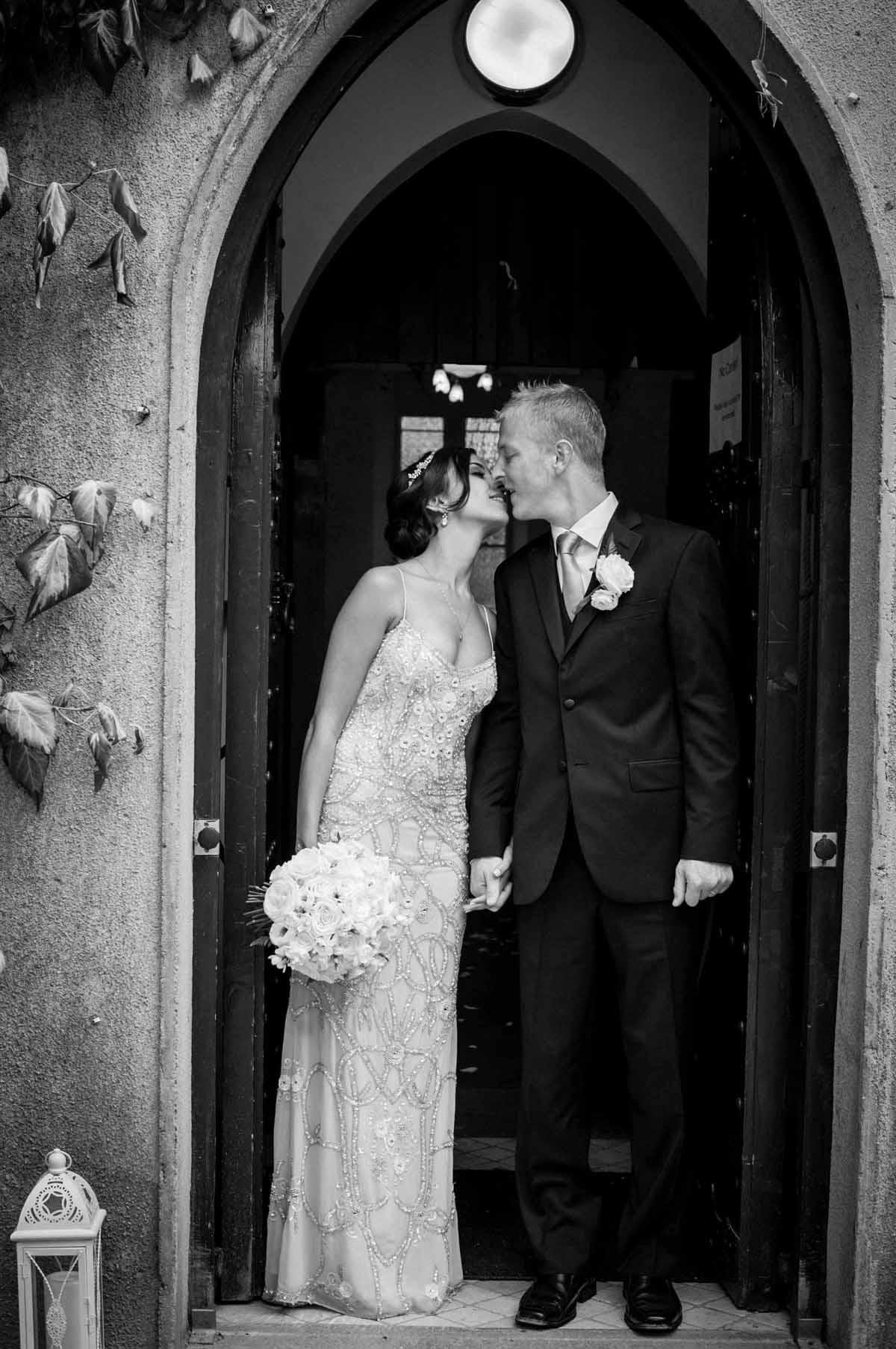 BrookLodge Chapel Wedding Photo