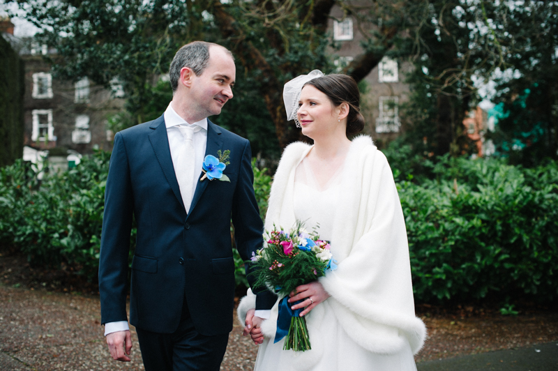 Dublin Wedding Photograph in St. Stephen's Green