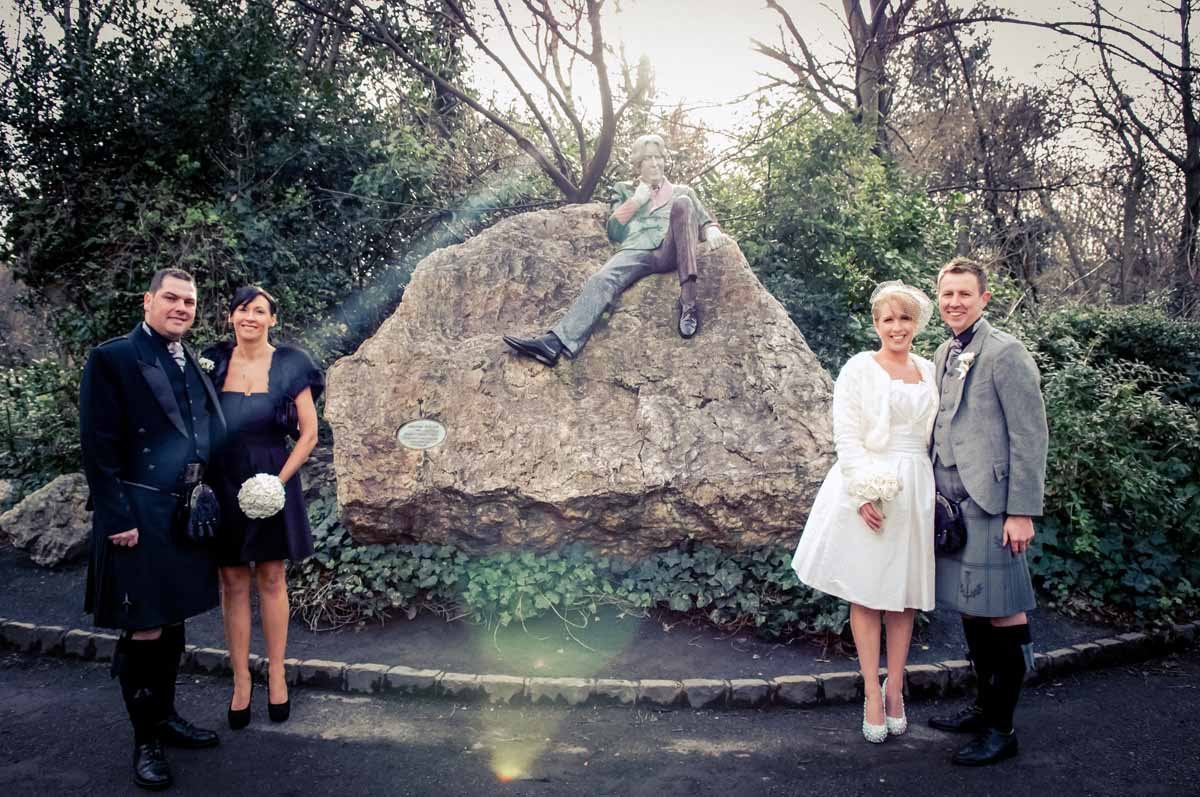 Registry Office Wedding Photograph in Dublin