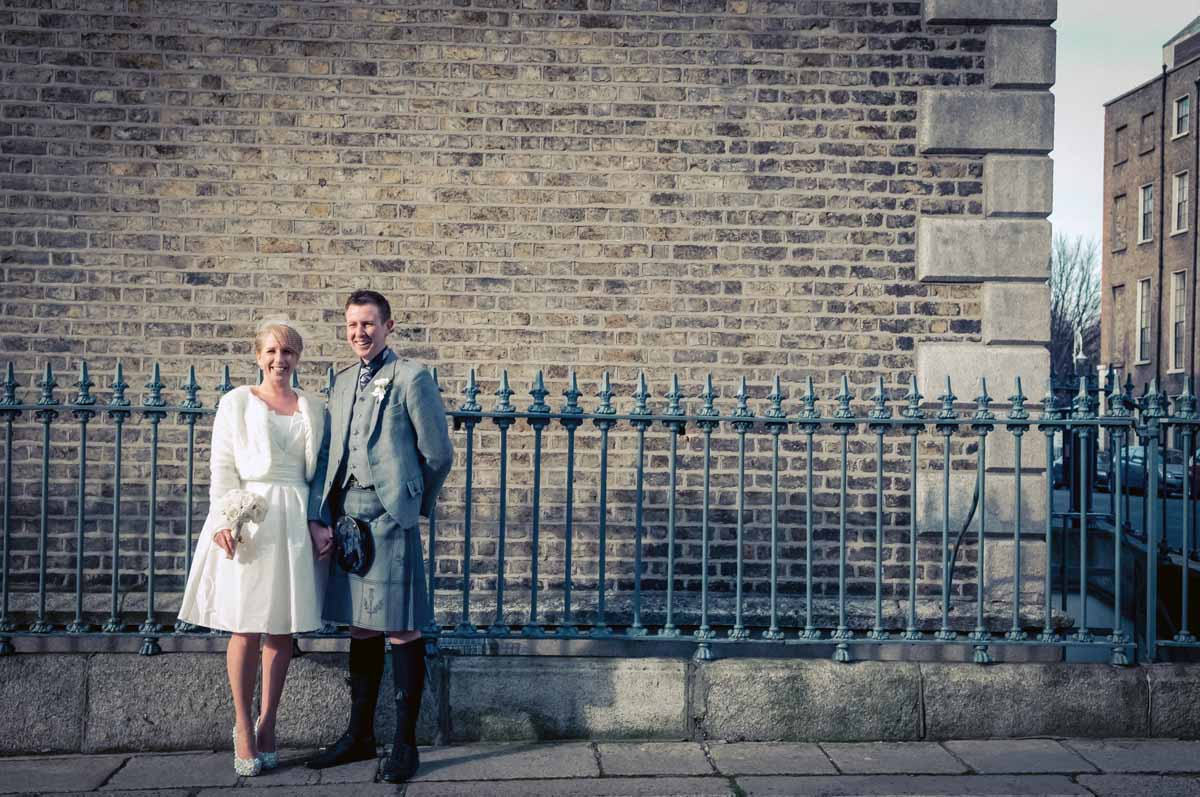 Registry Office Wedding Ceremony Photo