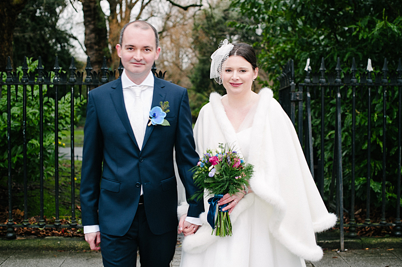 St. Stephen's Green Wedding Photograph