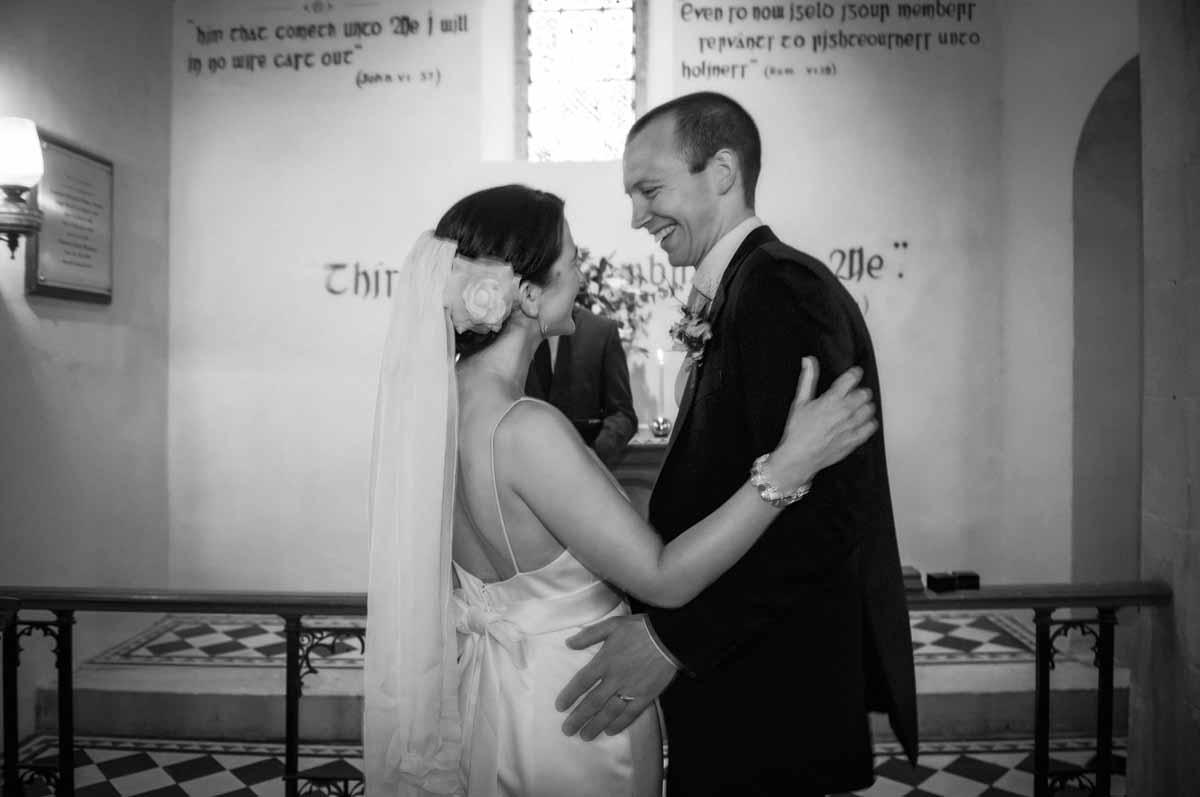 Country Church Wedding Photo