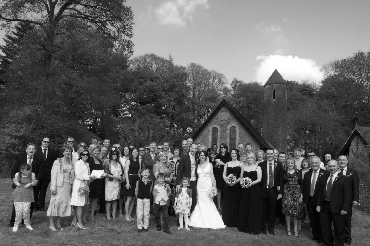 A Country Church Wedding Photo In Co. Kildare Ireland