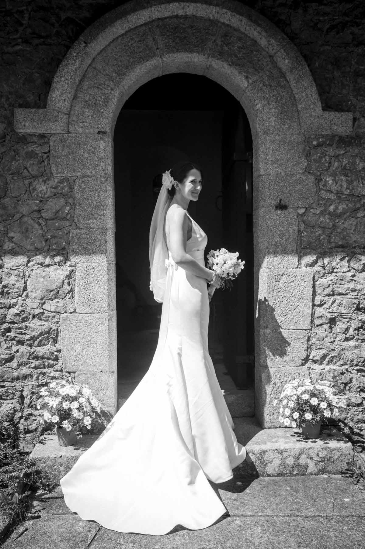 A Country Church Wedding Photo