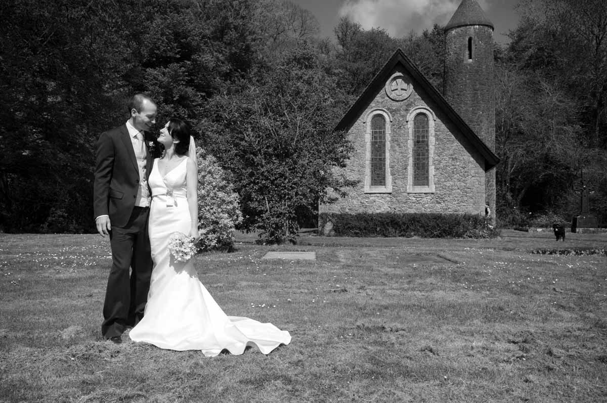 Country Church Wedding Photo In Co. Kildare Ireland