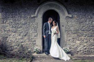 Country Church Wedding Photo In Ireland