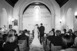 Country Church Wedding Picture