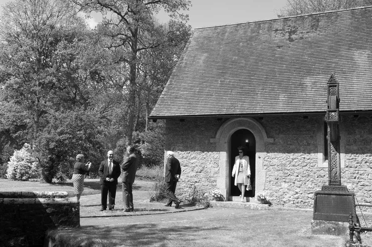 Irish Country Church Wedding Photograpy