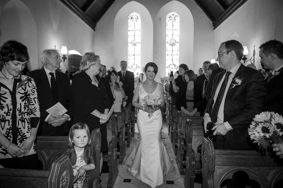 Irish Country Church Wedding Photos