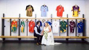 A Croke Park Wedding Photo