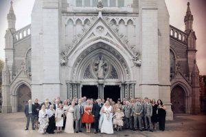 Church Wedding Photograph in Dublin
