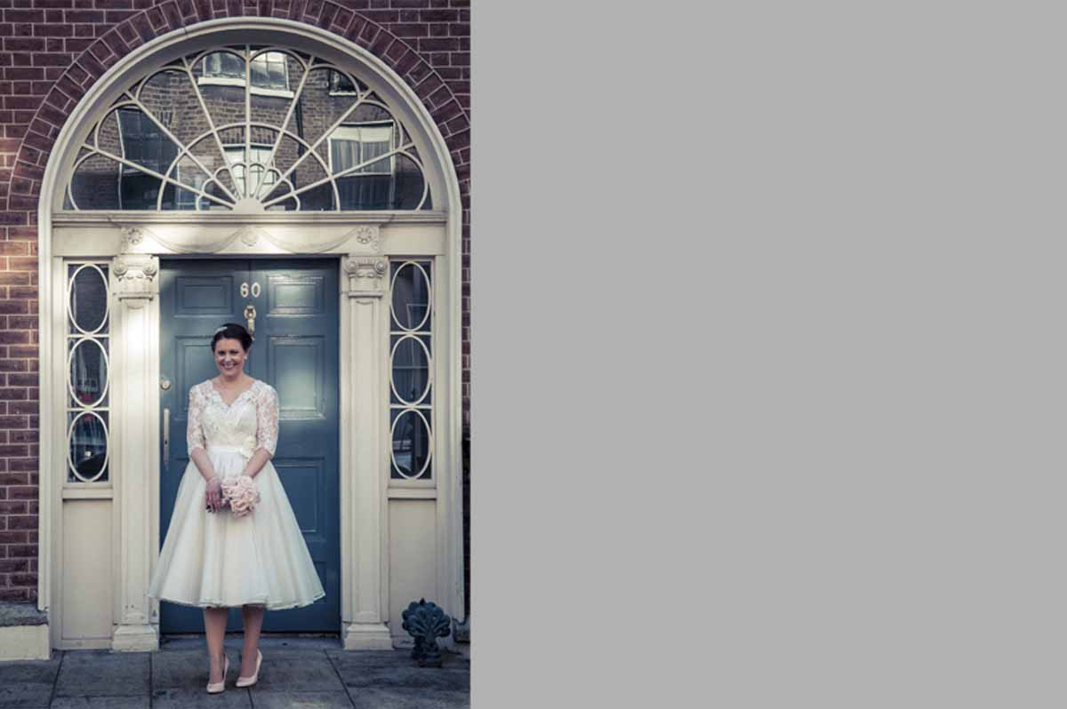 Registry Office Wedding Photography in Georgian Dublin
