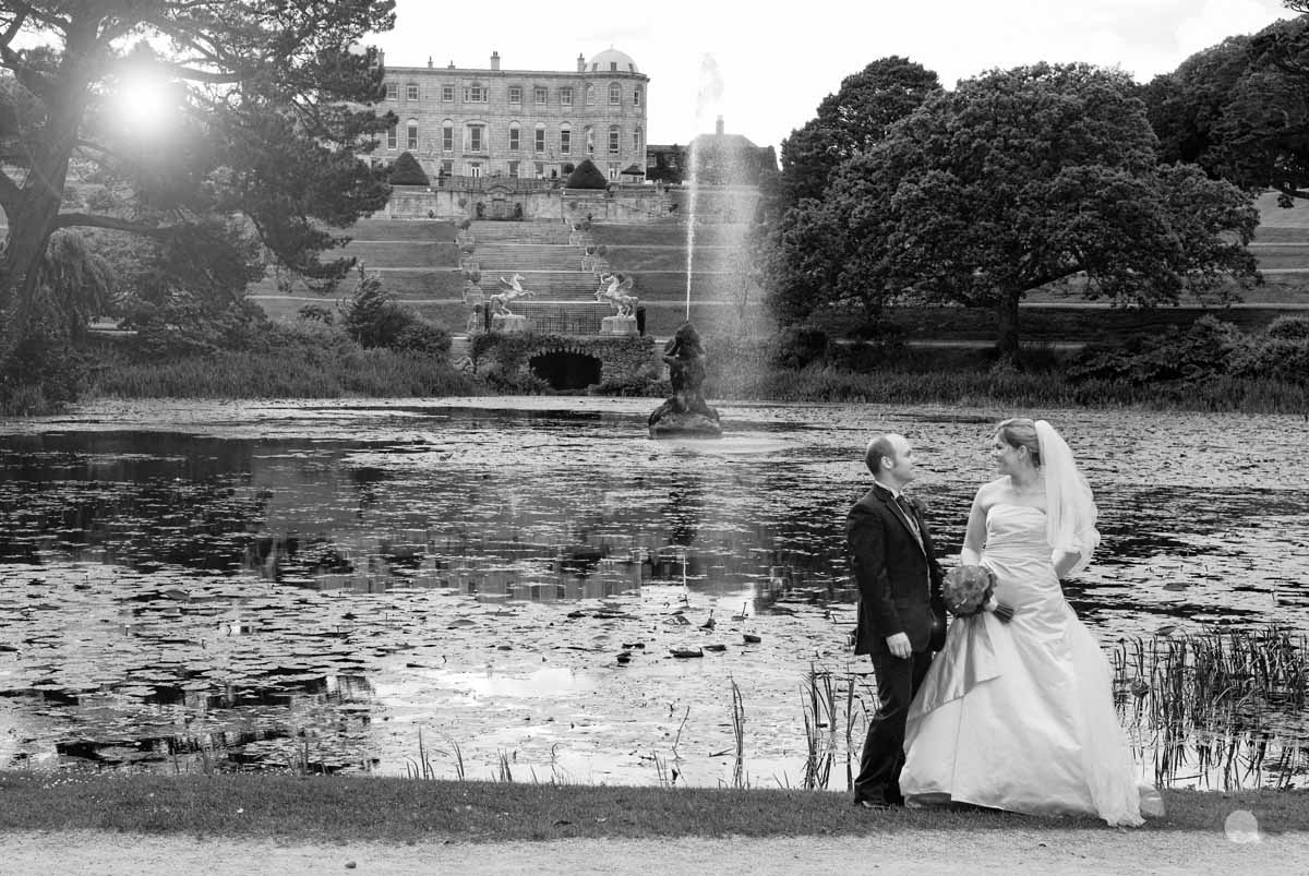 Powerscourt Wedding Photo