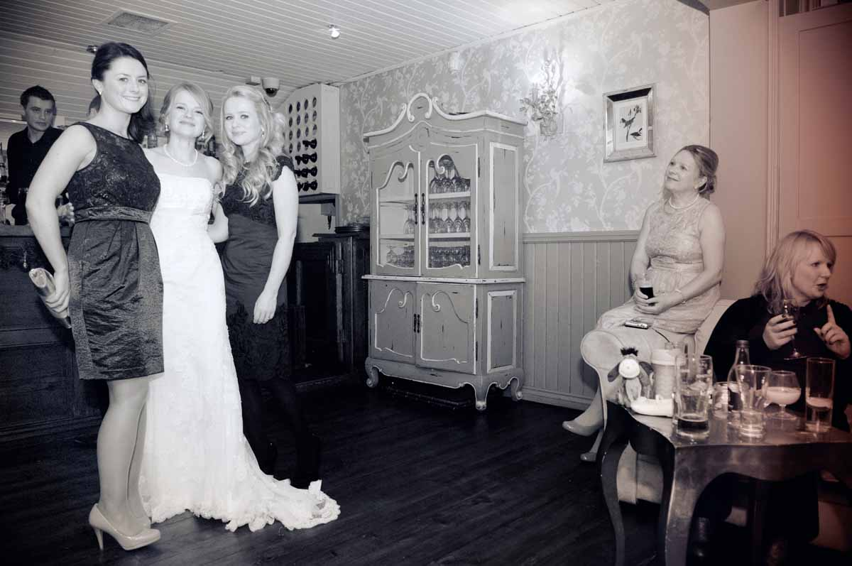 Anglers Rest Wedding Reception Photo