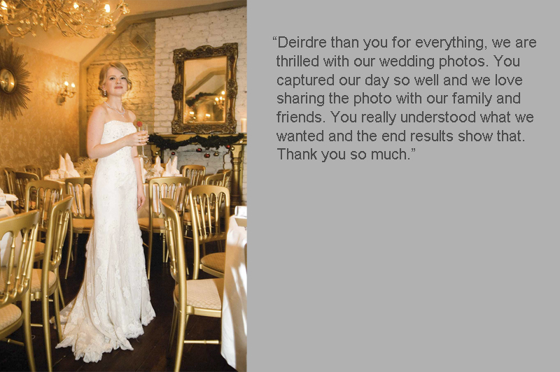Anglers Rest Wedding Photograph