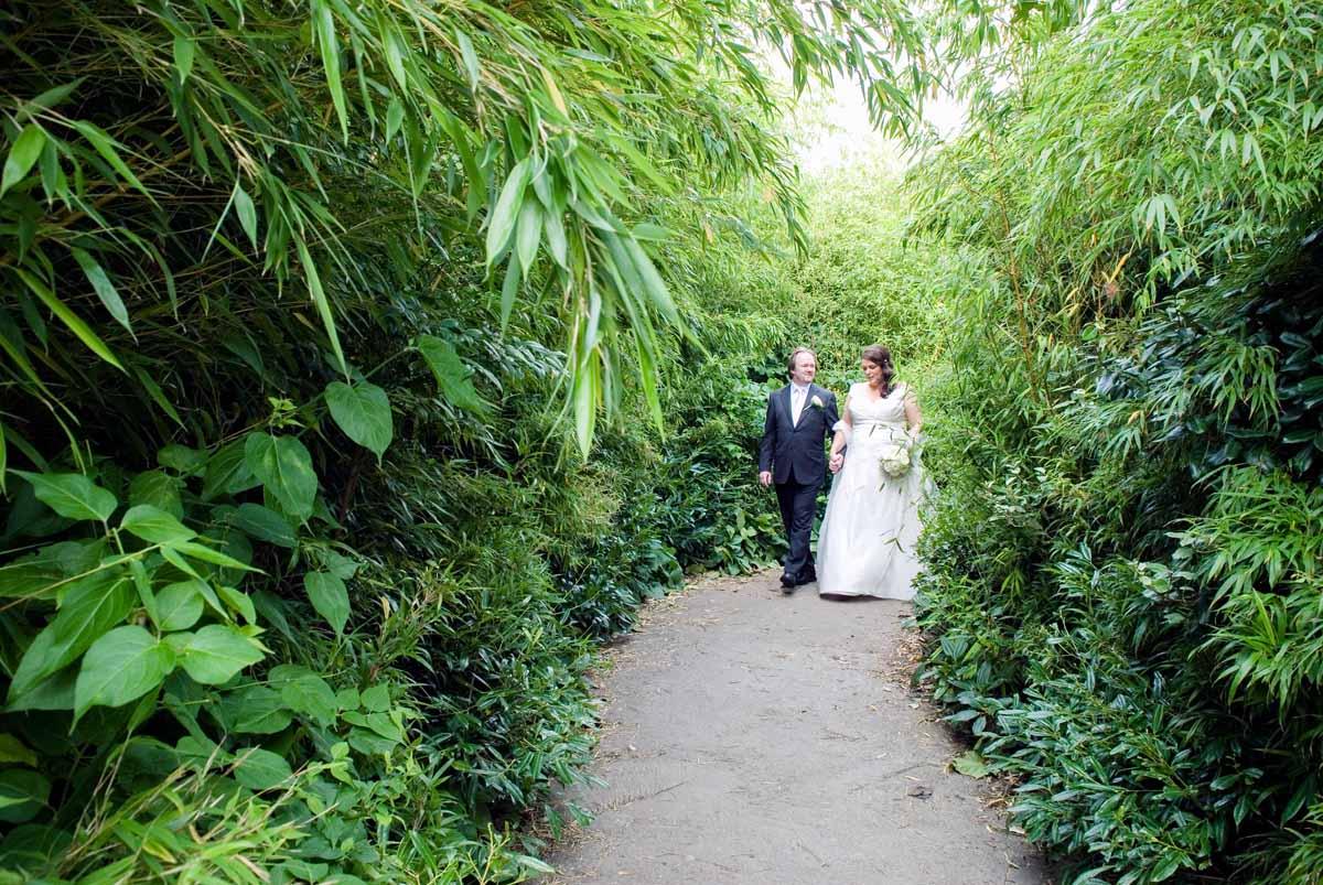 Dublin Zoo Wedding Photograph
