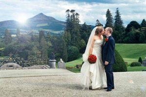 Powerscourt Wedding Photograph