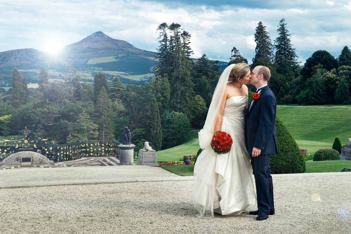 Powerscourt Wedding Photograph